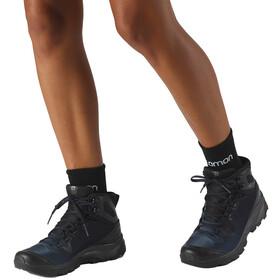 Salomon Vaya Mid GTX Shoes Women black/sargasso sea/black